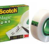 3M 810 Scotch Magic Klebeband invisible 19mmx33m Einzelrolle